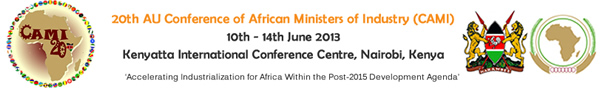 20th Edition of the Conference of African Union Ministers of Industry (CAMI-20)
