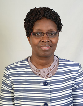 Mrs. Mary Mungai Commissioner for Co-operative Development